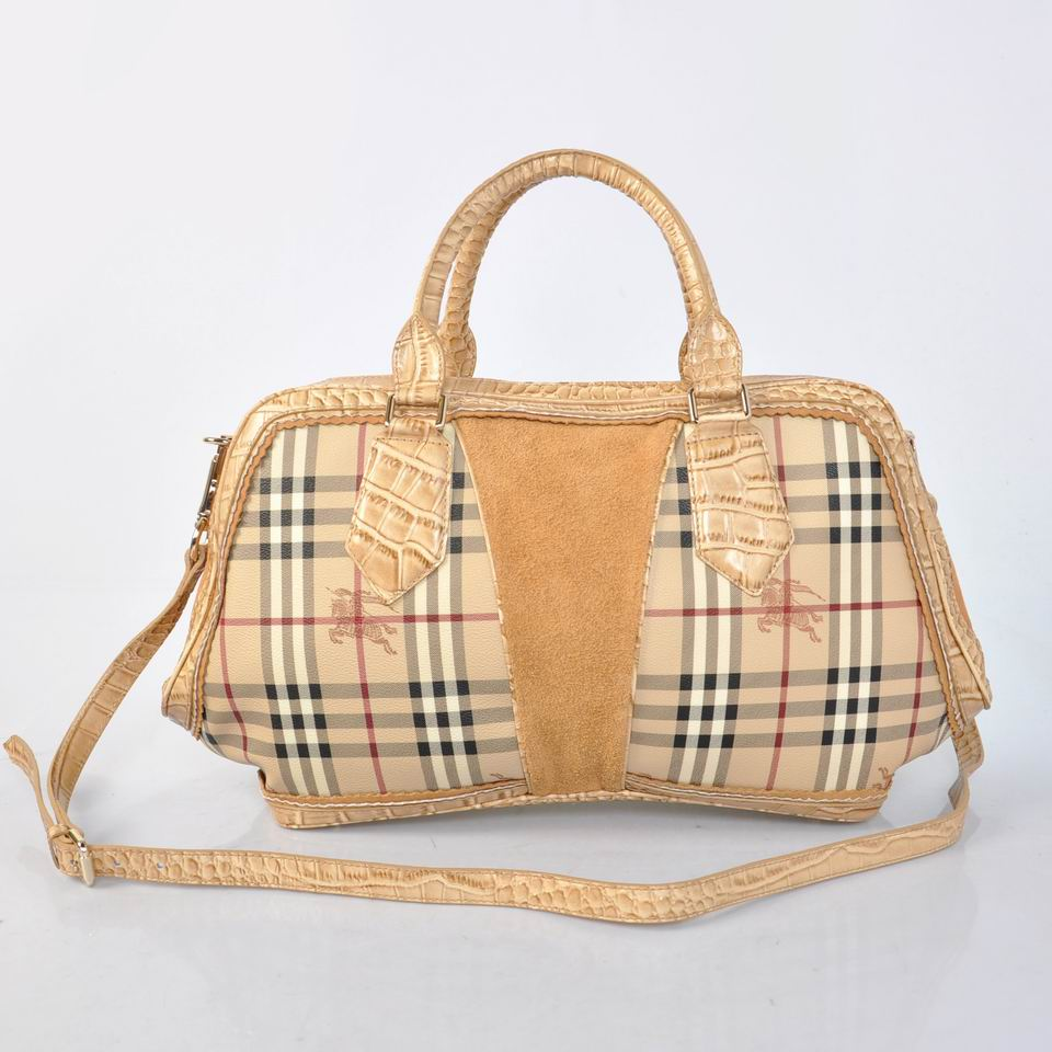 Burberry Outlet Tote Bag Khaqi Model029