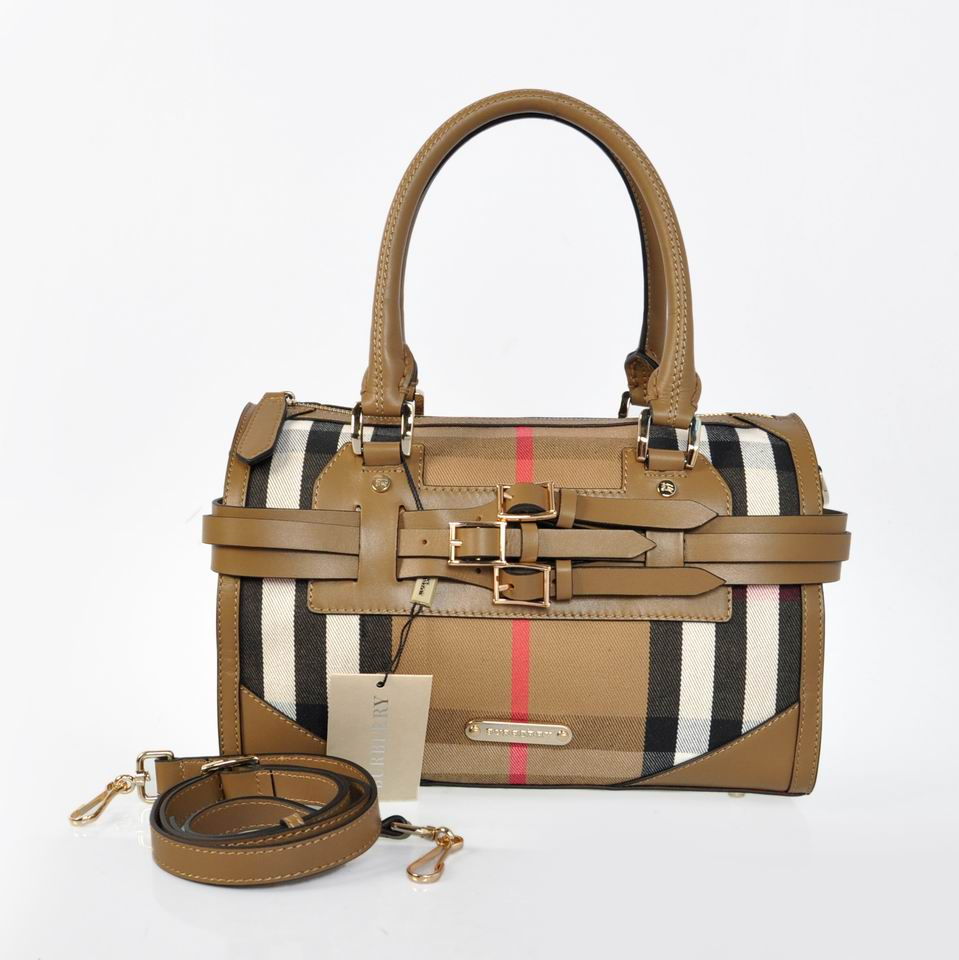 Burberry Outlet Tote Bag Khaqi Model039