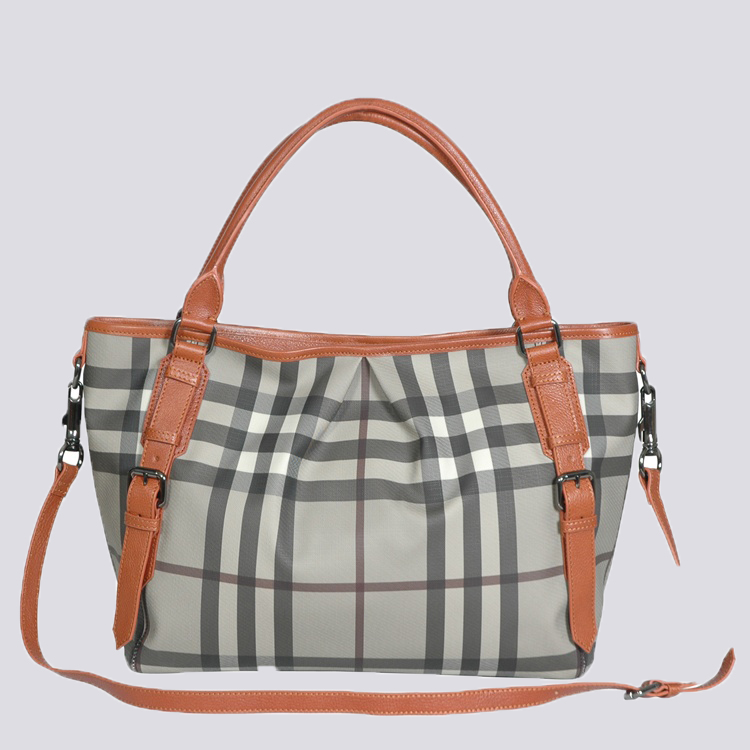 Burberry Outlet Tote Bag Khaqi Model052