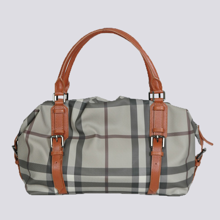 Burberry Outlet Tote Bag Khaqi Model053