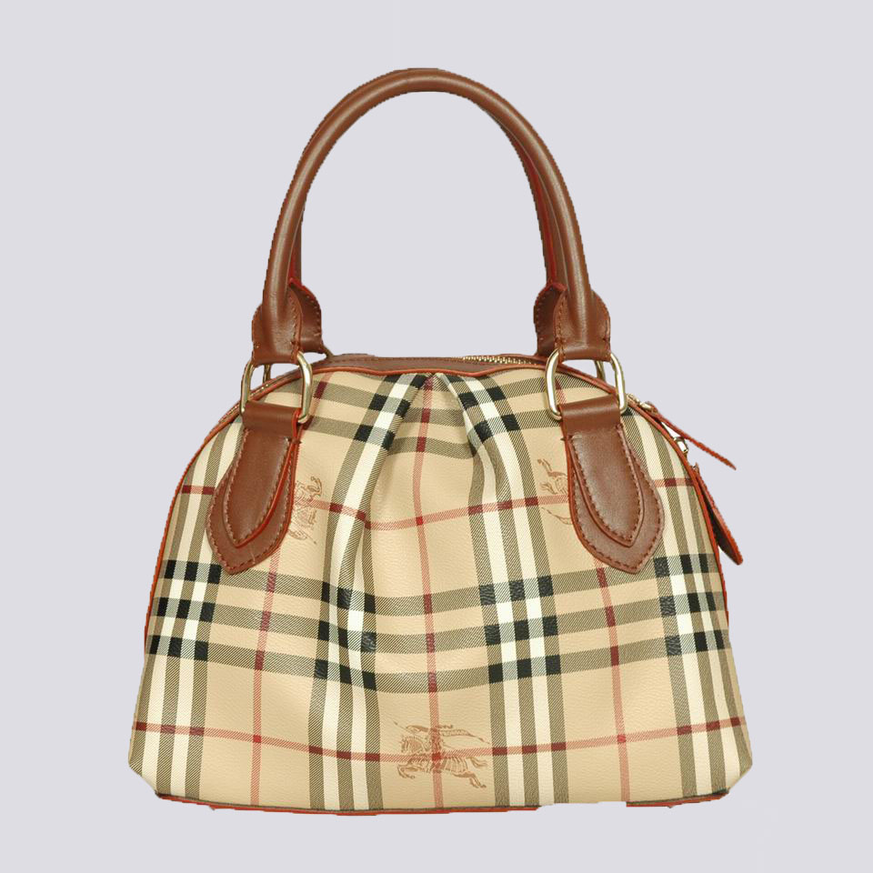 Burberry Outlet Tote Bag Khaqi Model067