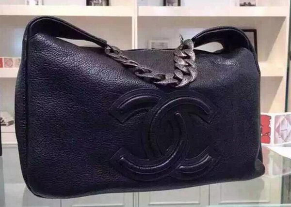 Chanel Top Original Leather Hobo Bags A92170 Black