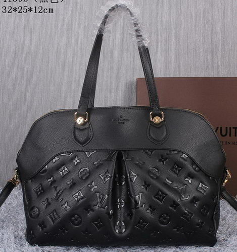Louis Vuitton Litchi Leather Toto Bag M41399 Black