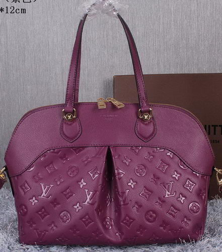 Louis Vuitton Litchi Leather Toto Bag M41399 Purple