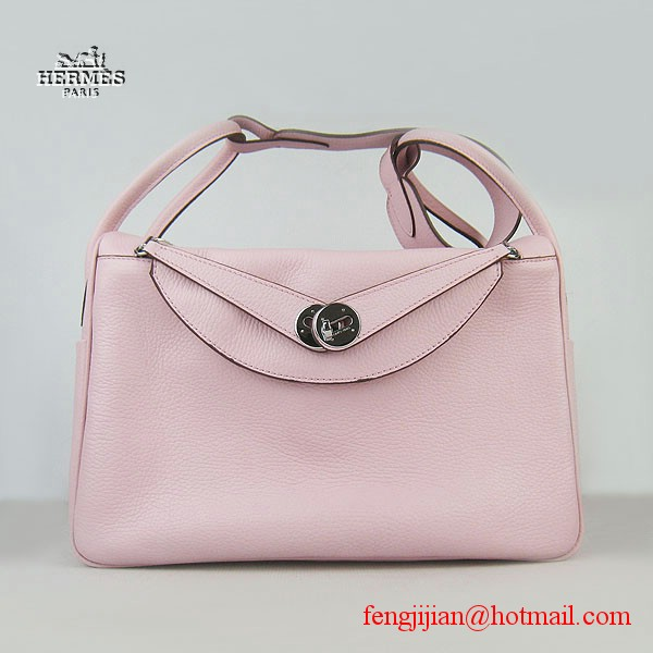 Hermes Lindy Women Shoulder Bag Pink 6208