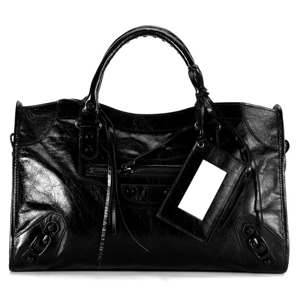 Balenciaga Work Handbag Black