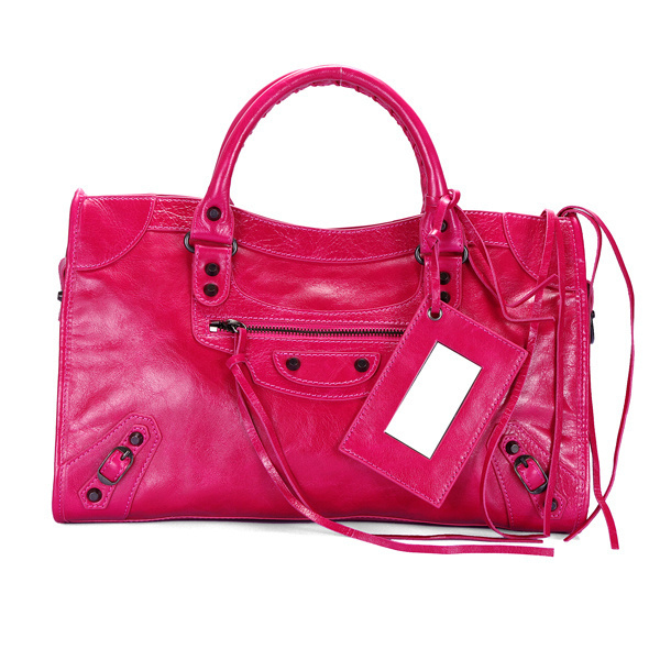 Balenciaga Work Handbag Deeppink