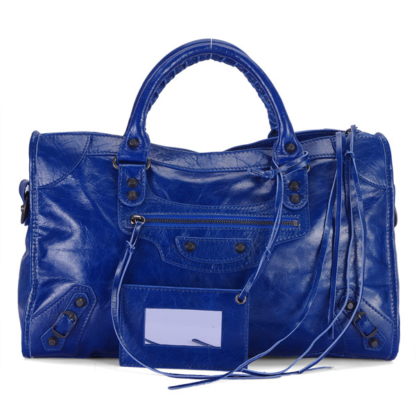 Balenciaga Work Handbag Midnightblue