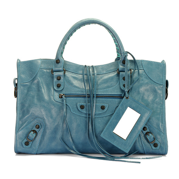 Balenciaga Work Handbag Royalblue