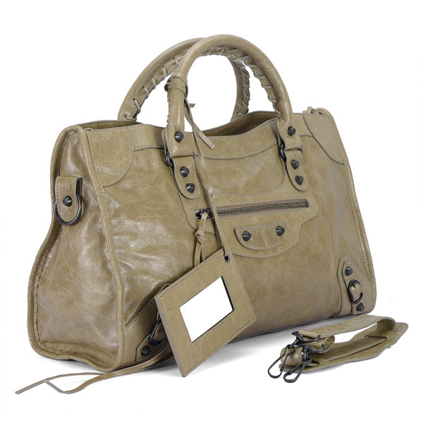 Balenciaga Work Handbag Tan