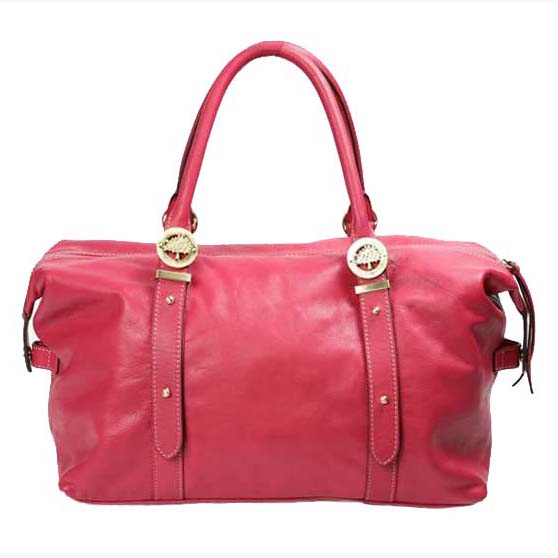 Mulberry Drew Clipper Holdalls Bag Soft Buffalo Leather Pink