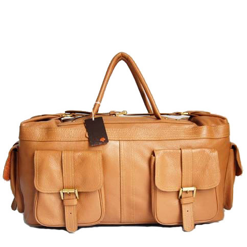 Mulberry HOBO Holdalls Bag Natural Leather Oak