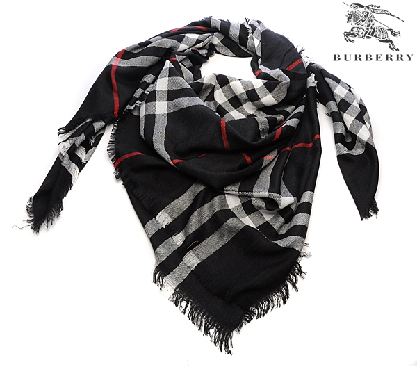 Burberry Outlet Check Scarf Model002
