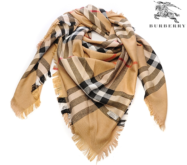 Burberry Outlet Check Scarf Model003