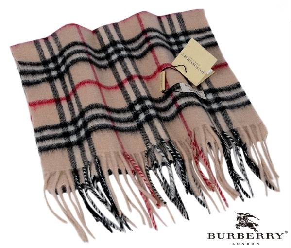 Burberry Outlet Check Scarf Model006