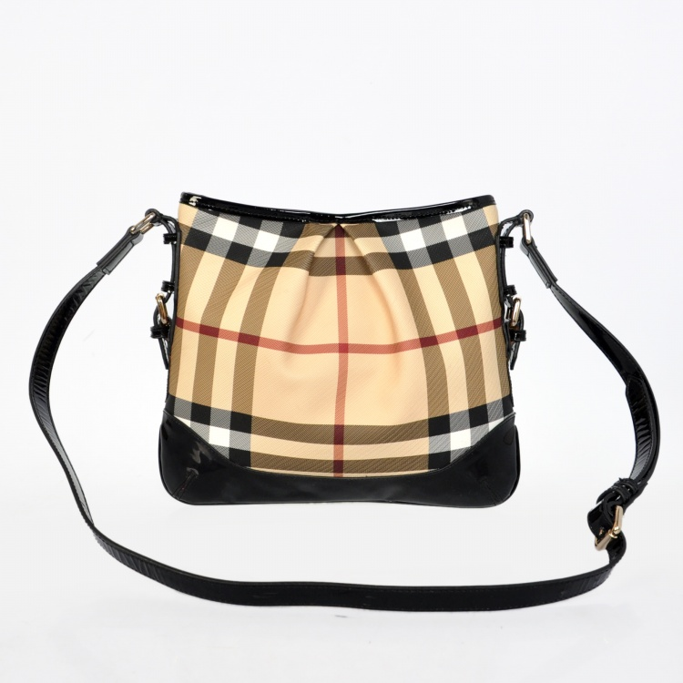 Burberry Outlet Crossbody Bag Black Model009