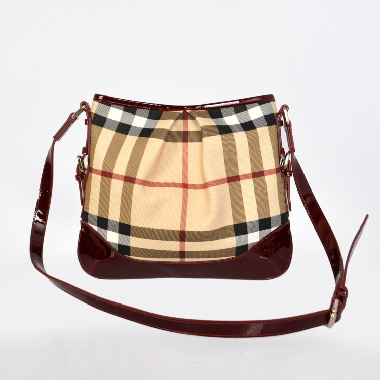 Burberry Outlet Crossbody Bag Red Model009