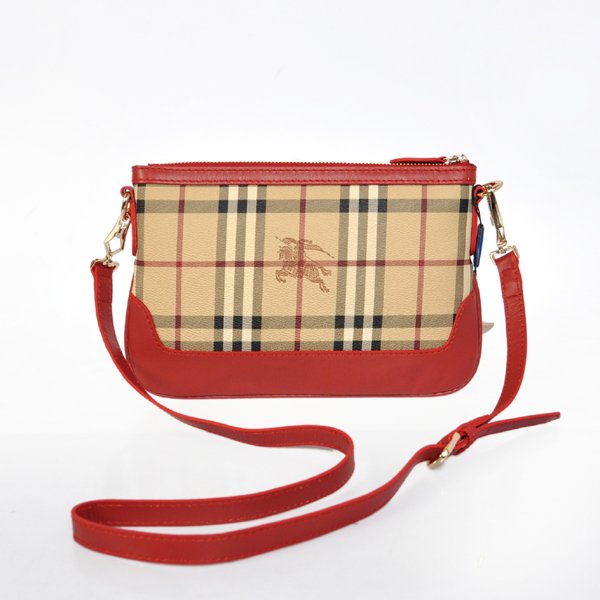 Burberry Outlet Crossbody Bag Red Model013