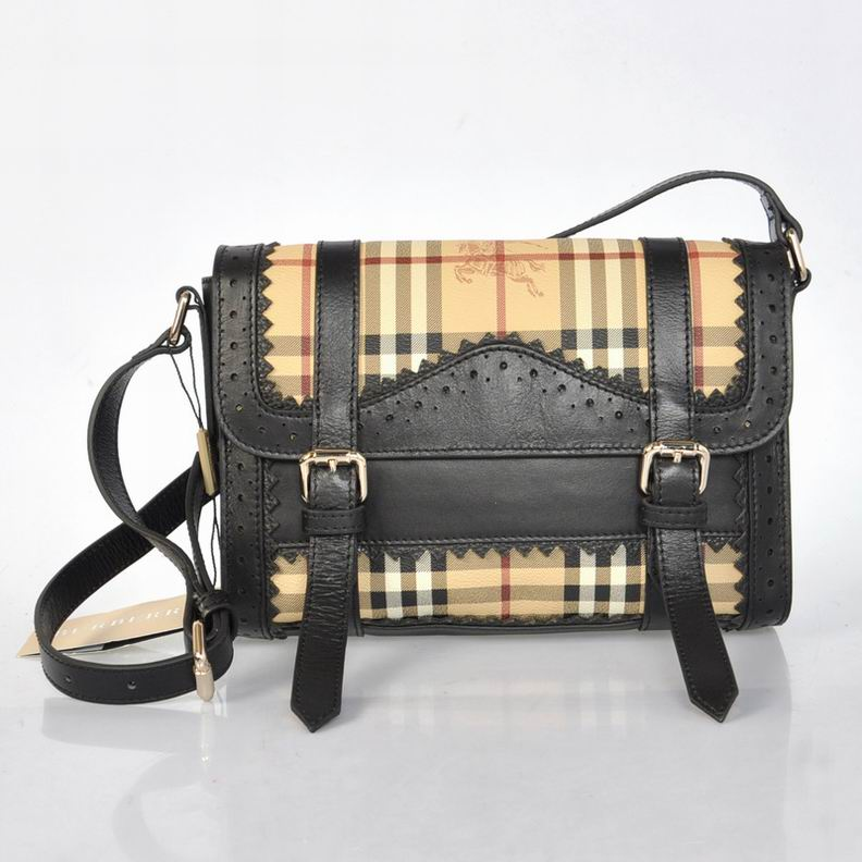 Burberry Outlet Crossbody Bag Black Model003