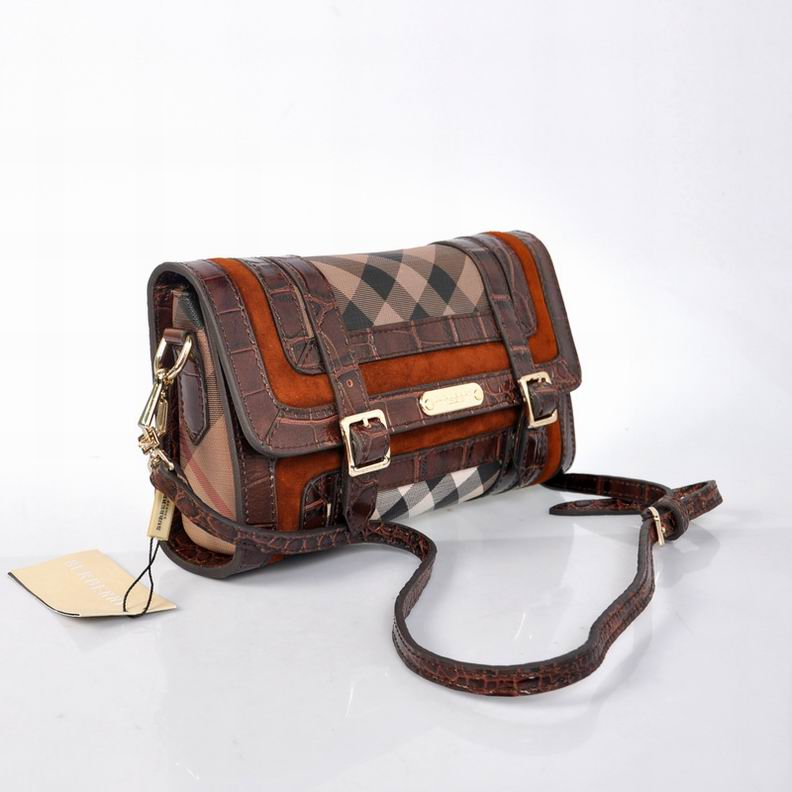 Burberry Outlet Crossbody Bag Coffee Model001
