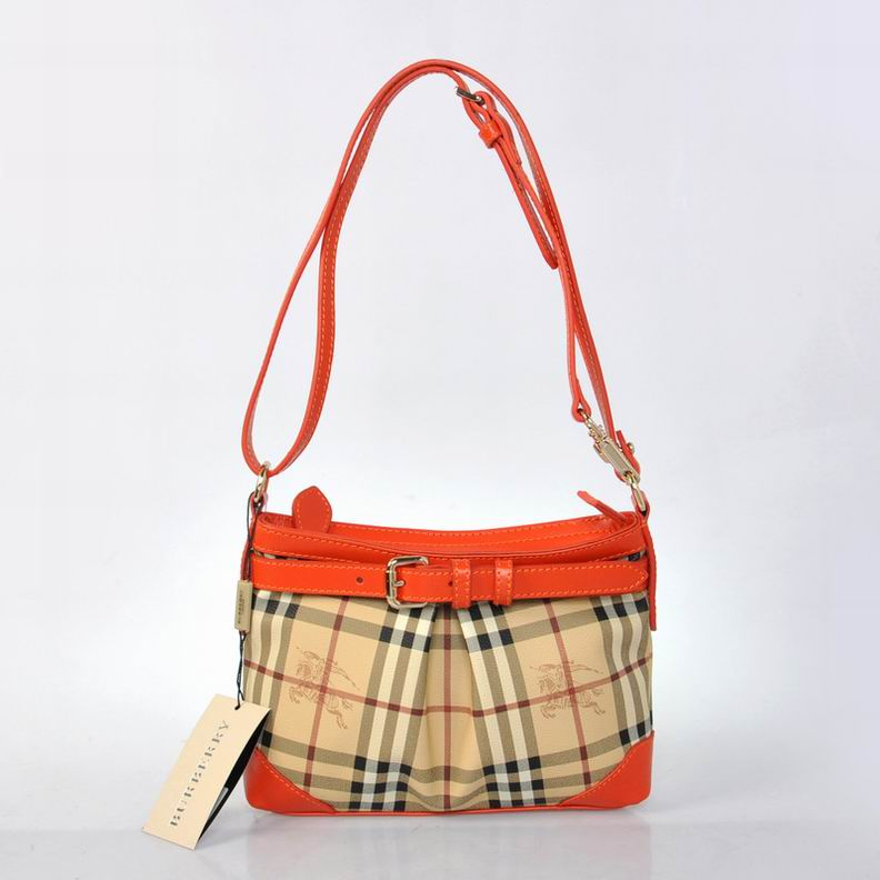 Burberry Outlet Crossbody Bag Orange Model005