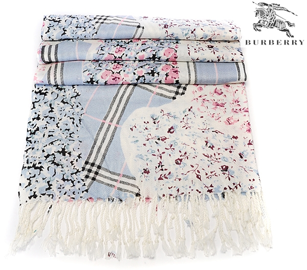 Burberry Outlet Gauze Scarf Model030