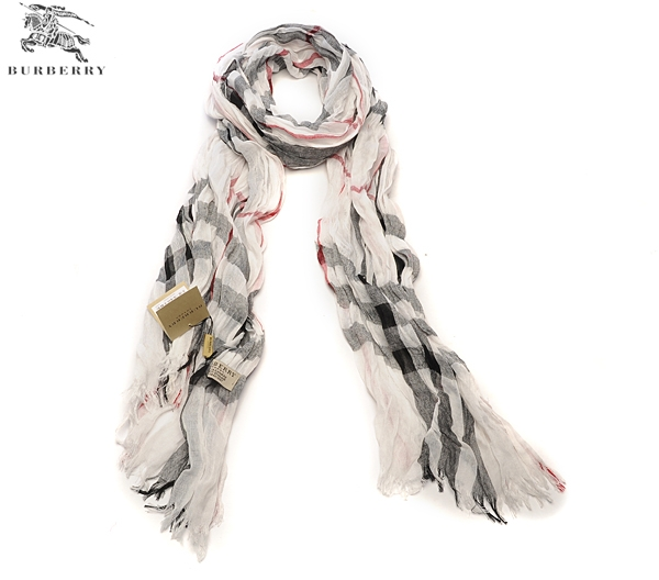 Burberry Outlet Gauze Scarf Model032