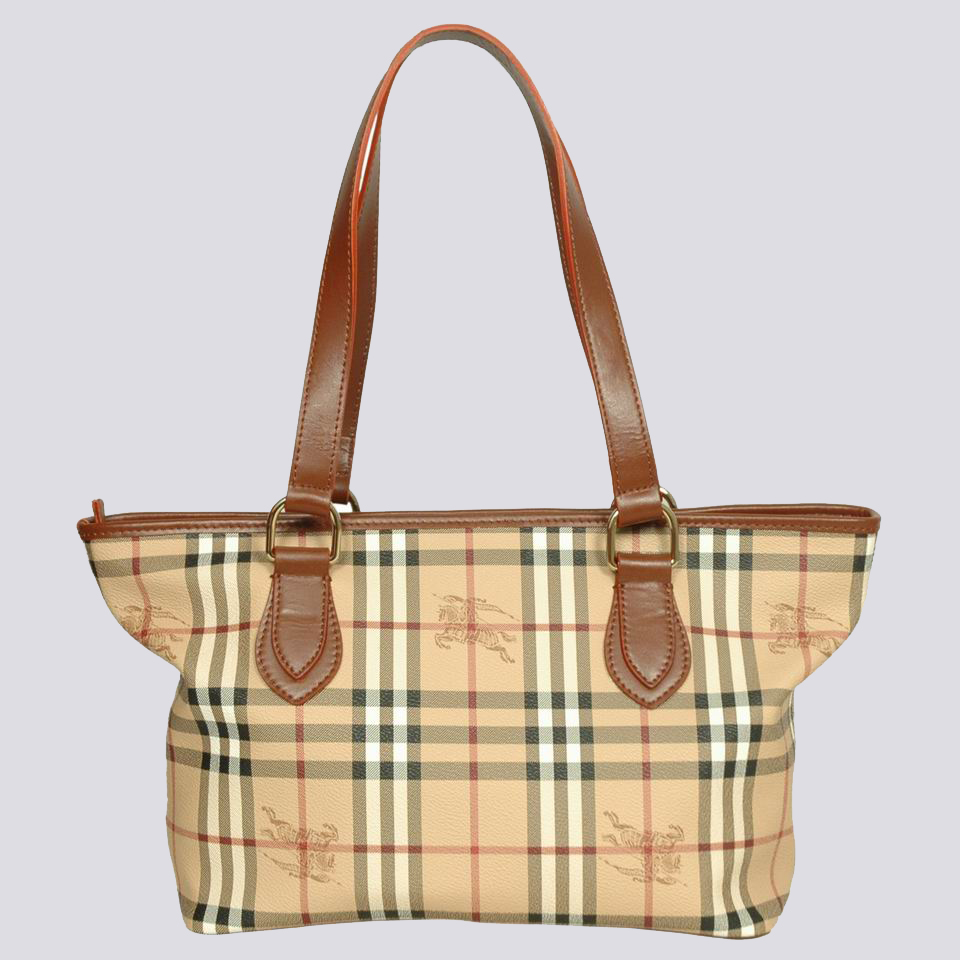 Burberry Outlet Large Shoulder Bag Khaki Model014