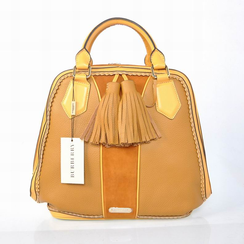 Burberry Outlet Large Tote Bag Khaki Model001