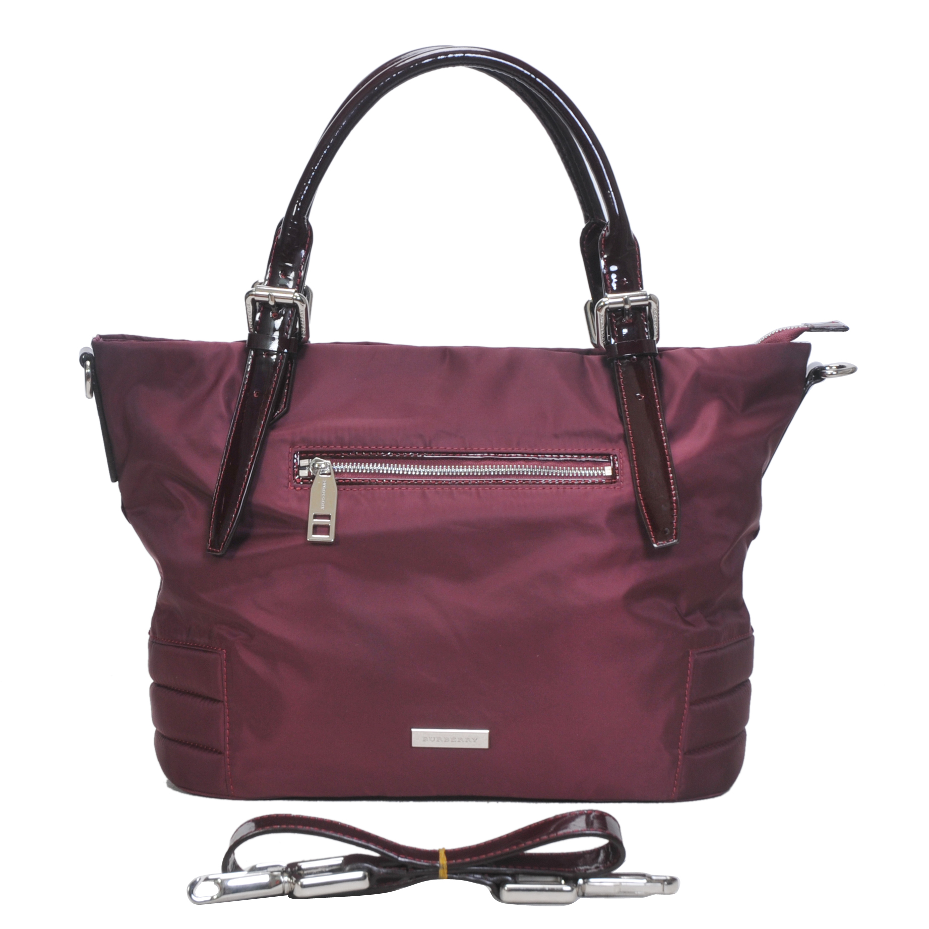 Burberry Outlet Tote Bag Red Model188