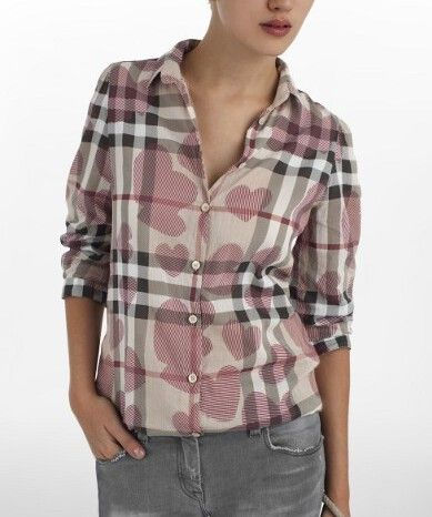 Burberry Outlet Women T Shirt Model004