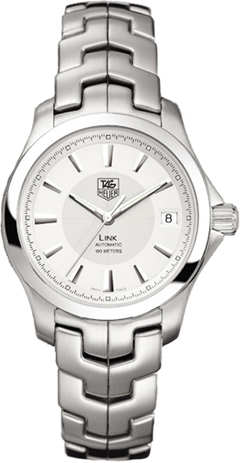 Tag Heuer Link Series Fashionable Automatic Unisex Midsize Watch-WJF2211.BA0586