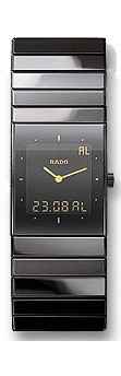 Rado Ceramica Series Black Ceramic Mens Watch R21324152