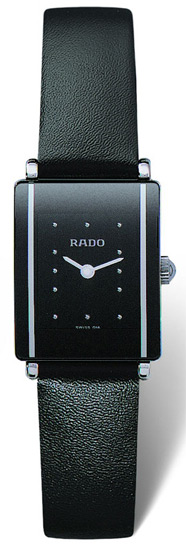Rado Integral Series Quartz Ladies Watch R20488165 in Black