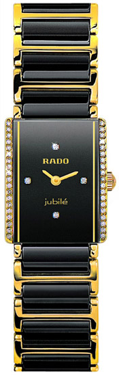 Rado Integral Series Quartz Ladies Watch R20339712 in Black