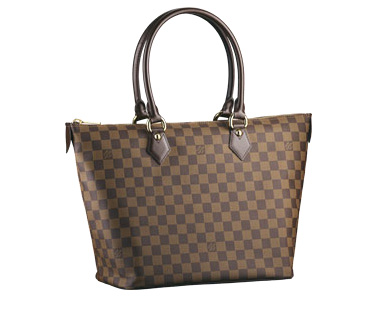 Louis Vuitton Damier Ebene Canvas Saleya MM N51188