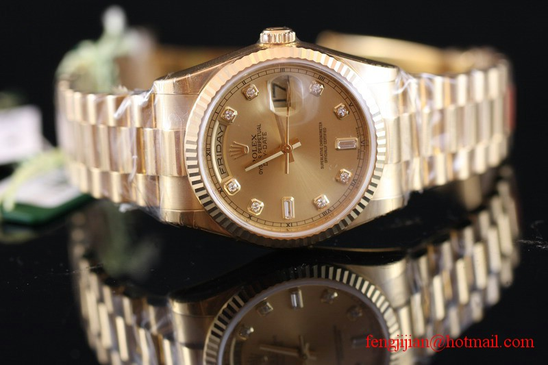 Rolex Yellow Gold Day-Date President Watch 118238-83208