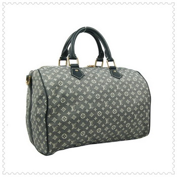Louis Vuitton Monogram Idylle Speedy 30 With Strap M56702 Grey