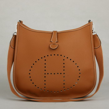 Hermes Evelyne Bag Light Coffee 1032