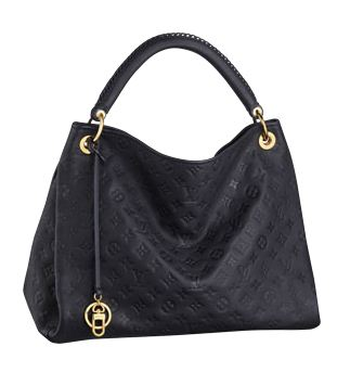 Hot Sell Louis Vuitton Monogram Empreinte Artsy MM M93448 Black