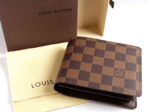 Louis Vuitton Damier Graphite Florin Wallet N60011