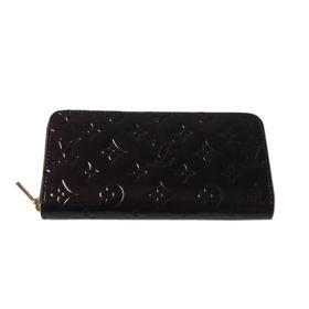 Louis Vuitton Monogram Vernis Zippy Wallet M93575