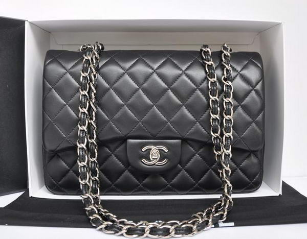 Chanel Original Leather Flap Bag A28600 Black