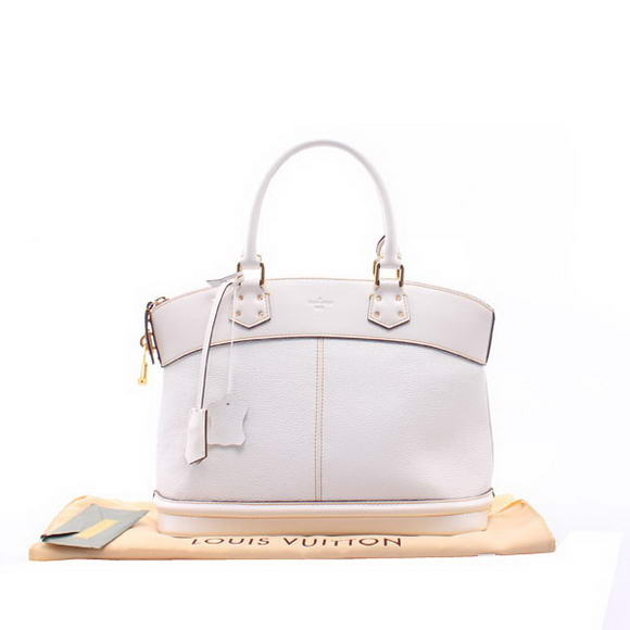 Louis Vuitton Suhali Leather Lockit MM M91876 Offwhite