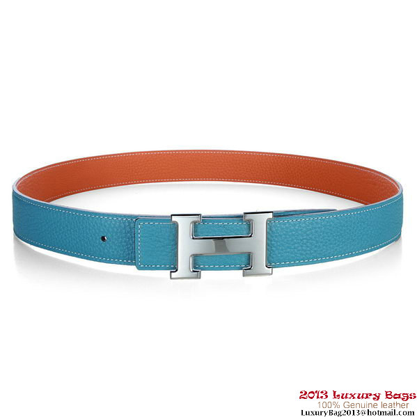 Hermes 50mm Clemence Leather Belt HB112-3