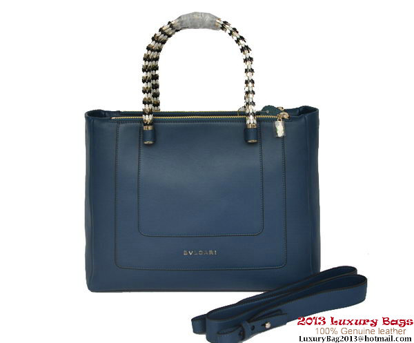 BVLGARI Handbags New Hand Carry Serpenti B15461 RoyalBlue