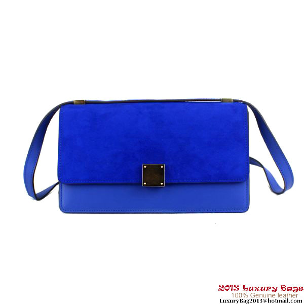 Celine Case Bag Nubuck Leather 17081 3338 Royalblue