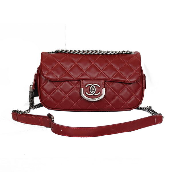 Chanel 31 Rue Cambon Paris Bag in Sheepskin Leather A58814 Burgundy