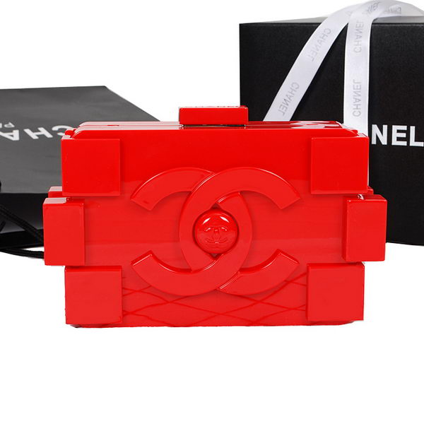 Chanel Lego Clutch A52249 Red