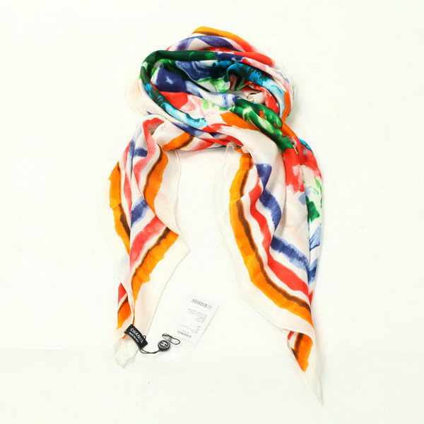 Chanel Scarves Silk WJCH037 Orange